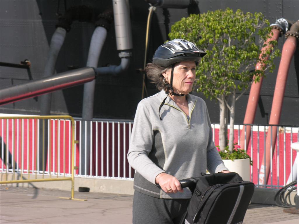 Kay on the Segway